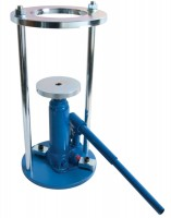 proctorcore cutter extruder frame and hydraulic jack extrudes 100mm4 inch diameter specimens sample extruder