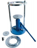 cbrcore cutter extruder frame and hydraulic jack extrudes 150mm6 inch diameter specimens sample extruder