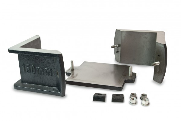 ELE International - 150mm Cube Mould 2-Part Clamp Type  Cast
